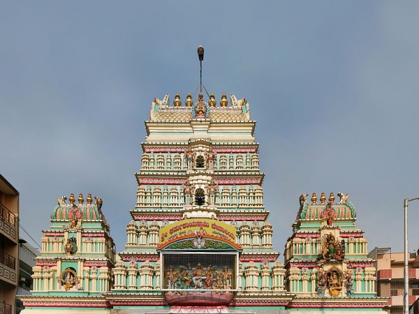 Bangalore photos, Dharmaraya Swamy Temple - Exterior View