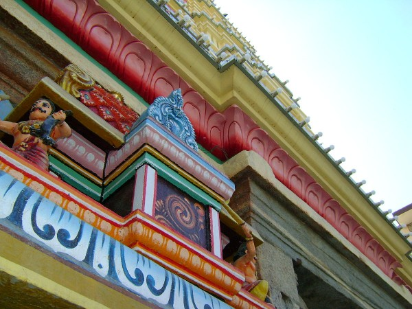 Bangalore photos, Dharmaraya Swamy Temple - Architectural Style