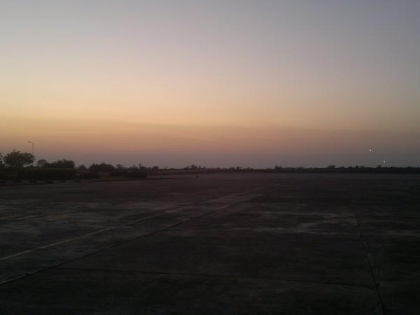 Baramati photos, Baramati_Airport_Ramp_Evening_view