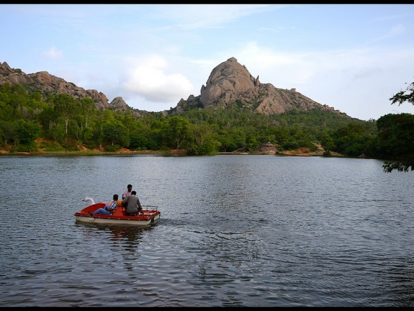 Chitradurga photos, Chandravalli - Lake Near The Cave Temple