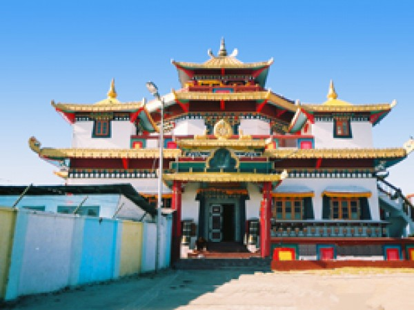Kalimpong photos, Zong Dhog Palri Fo Brang Monastery - Kalimpongdurpin