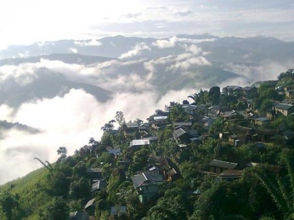 Kiphire photos, Kisatong village - Village