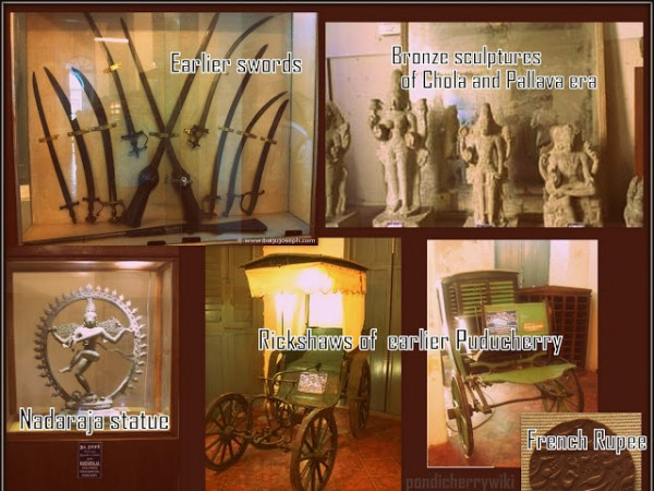 Pondicherry photos, Pondicherry Museum - pondicherry museum puducherry india picture