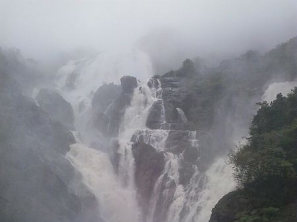 Belgaum photos, Dudhsagar falls - Doodhsagar_Waterfalls