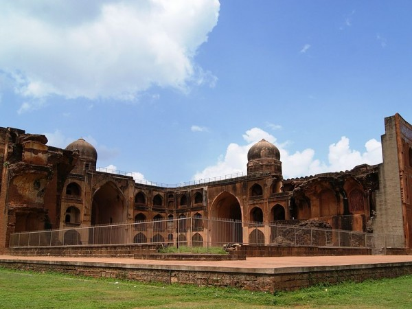 Bidar photos, Mahmud Gawan Madrasa - The Exterior View of Mahmud Gawan Madrasa