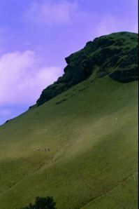 Kudremukh photos, Kudremukh Peak - A Distant View