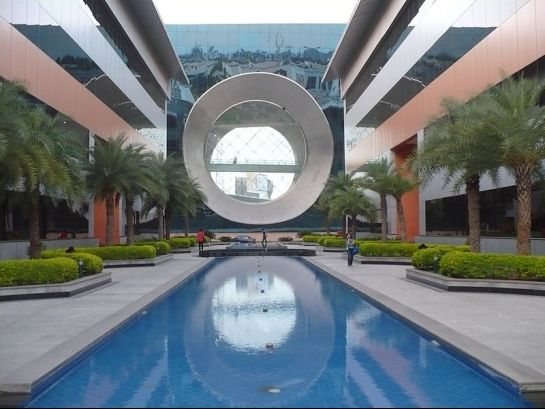 Bangalore photos, Infosys Campus - Inside view