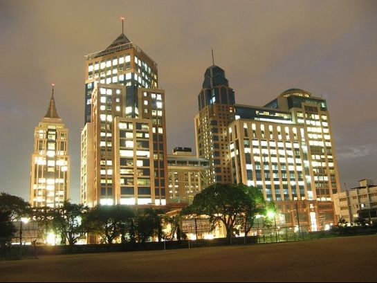 Bangalore photos, UB City - Night View