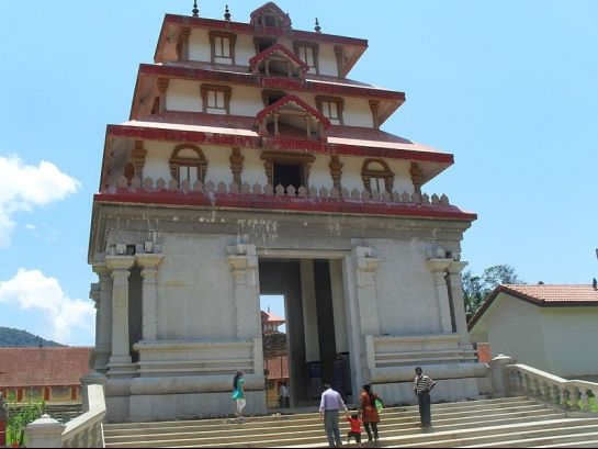 Coorg photos, Bhagamandala - The Imposing Structure