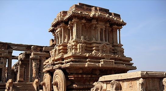 Hampi Photos - Stone chariot