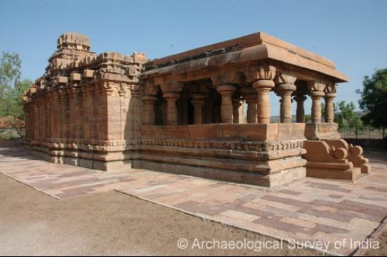 Pattadakal photos, Jain Temple