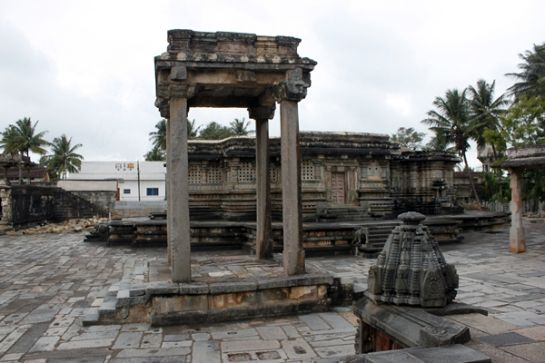 Belur photos, Kappe Chennigaraya Temple