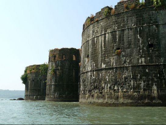 Murud Janjira photos, Janjira Fort - Side View