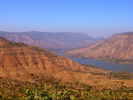 Panchgani photos, View from Panchgani