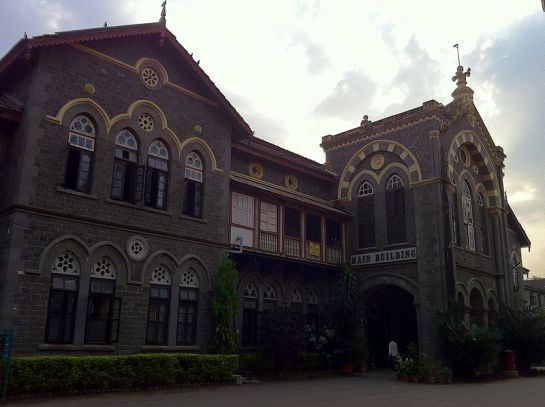 Pune photos, Fergusson College Main