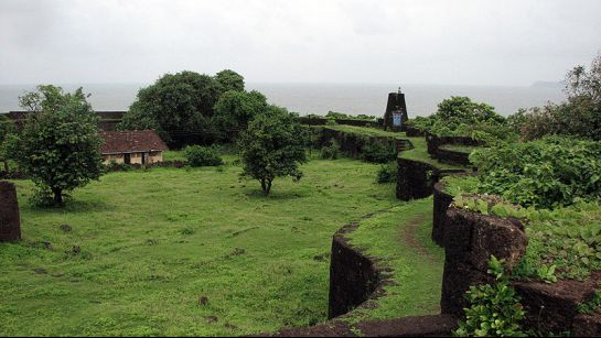Ratnagiri photos, Jaigadh Fort - A secenic view