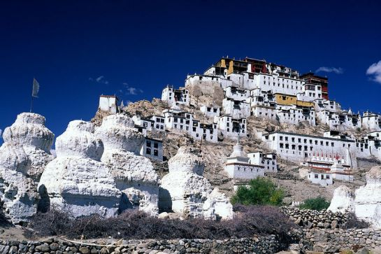 Leh photos, Thiksey Monastery - A view