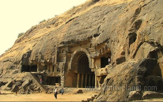 Khandala photos, Karla and Bhaja Caves - In Broad Sunlight