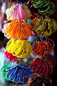 Mumbai photos, Colaba Causeway - Bangles in Every Colour