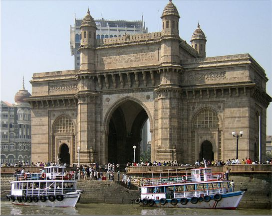 Mumbai photos, Gateway of India - Front View