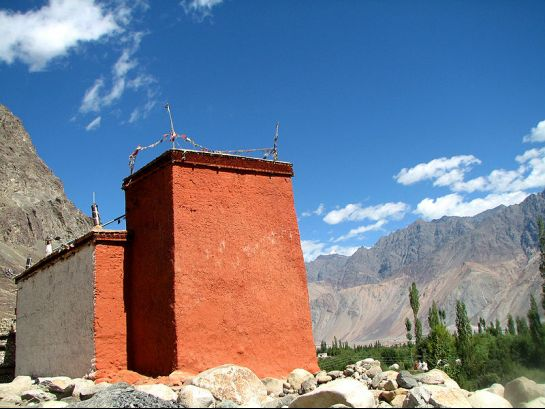 Nubra Valley photos, Hundur Monastery