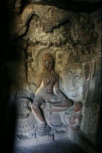 Ellora photos, Jain Group Of Caves - Cave 34