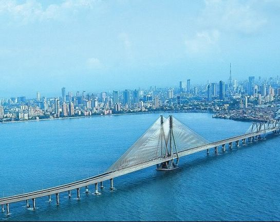 Mumbai photos, Mumbai Sea Link - Blue Shades