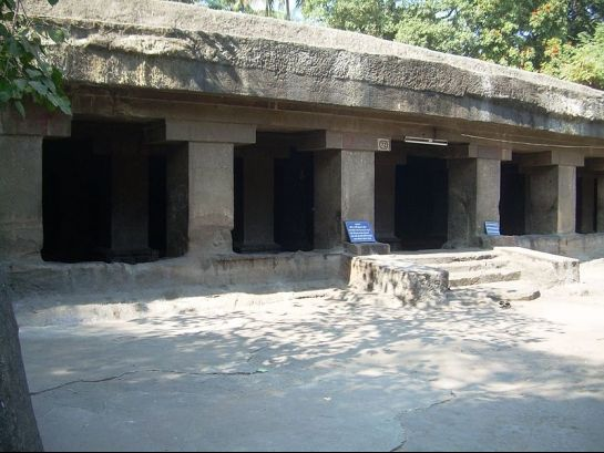 Pune photos, Pataleshwar Cave Temple - An Entrance to the Temple