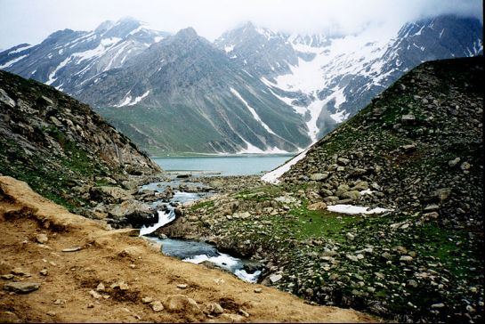 next to Indus river