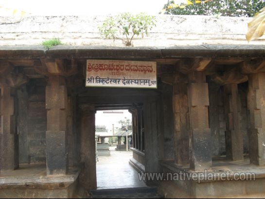 Gadag photos, Trikuteshwara Temple Complex - Temple Entrance