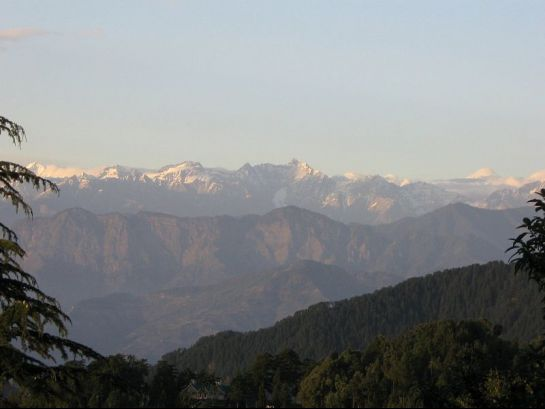 Dalhousie photos, Dalhousie - View from Subhas Bowli