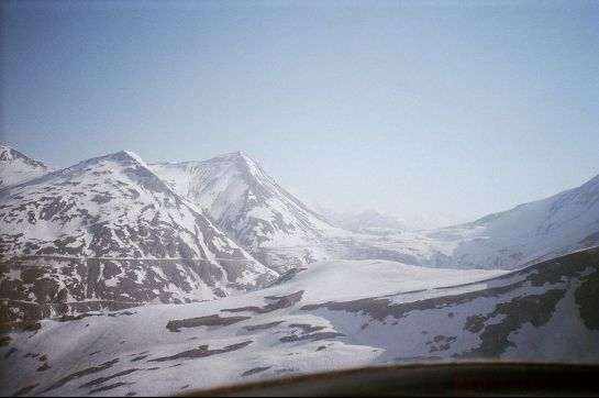 Lahaul photos, Lahaul - A spread of snow
