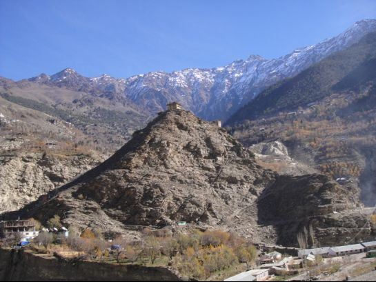 Kinnaur photos, Moorang - Fort