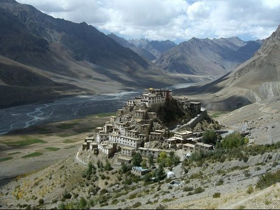 Spiti photos, Key monastery - A breathtaking view