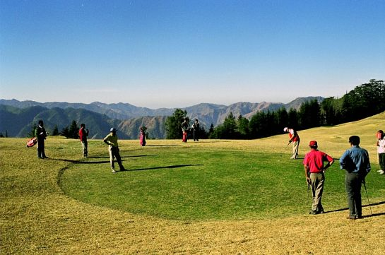 Naldehra photos, Naldehra Golf Course