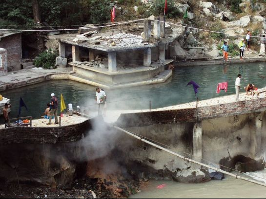 Manikaran photos, Hot Springs - Tourist bathe
