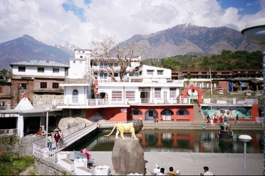 Palampur photos, Chamunda Devi Temple - A distant view