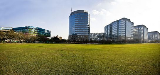 Bangalore photos, International Tech Park - Beauitful view