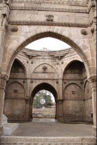 Champaner photos, Sikander Shah's Tomb - Inside View