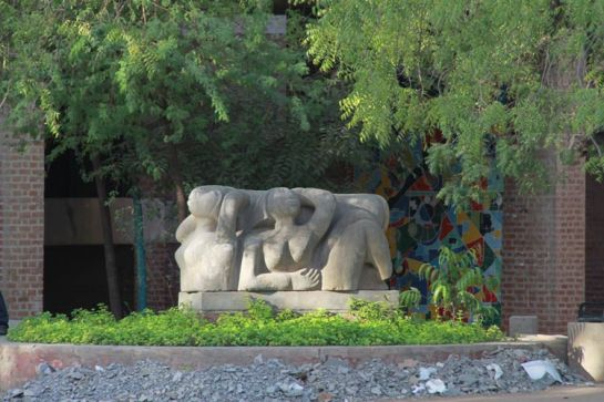 Ahmedabad photos, CEPT Campus - A Sculpture in the Campus