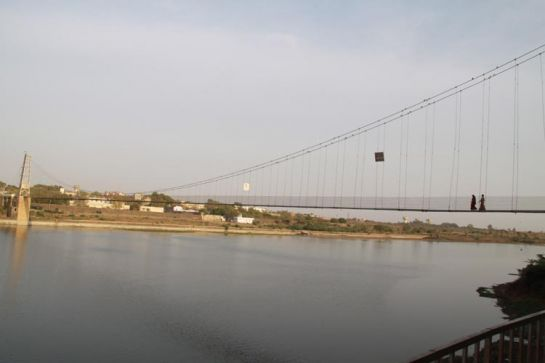 Morbi photos, Suspension Bridge - Wonderful View