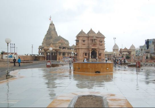 Somnath photos, Somnath Mahadev Temple - Beautiful View