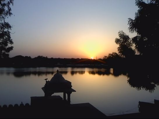 Ahmedabad photos, Kankaria Lake - Sunset
