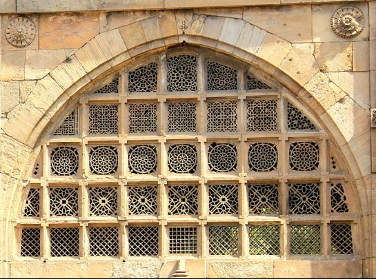 Ahmedabad photos, Sidi Sayeed Masjid - Intricately Carved Windows