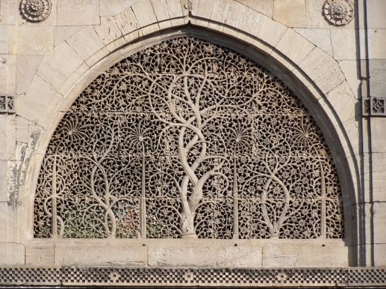 Ahmedabad photos, Sidi Sayeed Masjid - Carved Grill