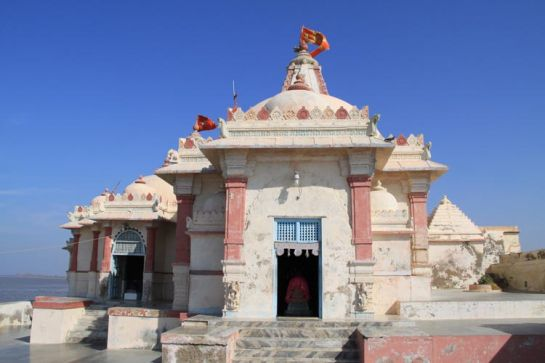 Ambaji photos, Koteshwar Temple - Front View