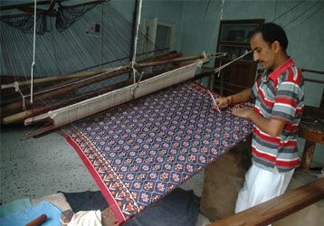 Patan photos, Patola Weavers