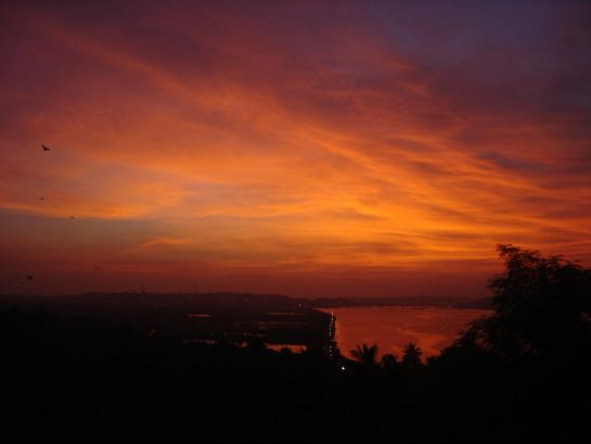 Goa photos, Ribandar - Sunset