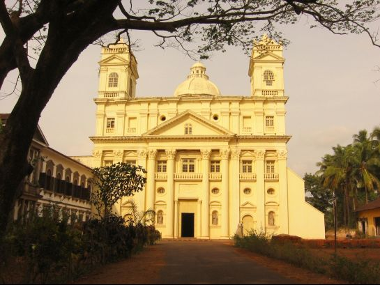 Goa photos, Old Goa - St. Cajetan