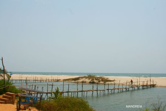 Goa photos, Mandrem Beach